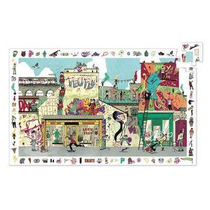 PUZZLE OBSERVACION STREET ART 200 PIEZAS