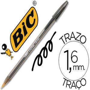 BOLIGRAFO NEGRO BIC CRISTAL LARGE