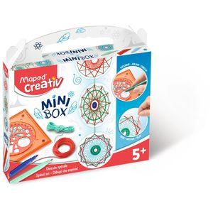 MINI BOX MAPED DIBUJOS ESPIRALES