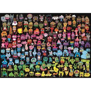 PUZZLE DOODLE RAINBOW PENS ARE MY FRIENDS 1000 PIEZAS