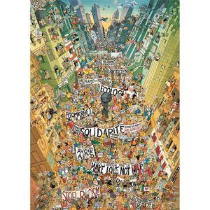PUZZLE PROTESTA CARTOON CLASSICS MARINO DEGANO 2000 PIEZAS