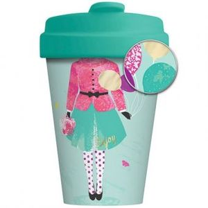 BAMBOO CUP MUJER CON GLOBOS
