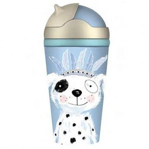 BOTTLE BAMBOO KIDS PERRITO INDIO