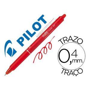 BOLIGRAFO PILOT FRIXION CLICKER BORRABLE 0,7 MM. ROJO