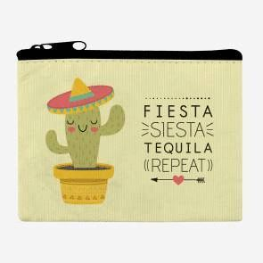 MONEDERO FUNKY COLLECTION FIESTA SIESTA TEQUILA