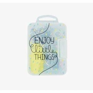 MINI SET PAPELERIA ENJOY LITTLE THINGS