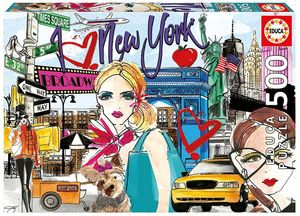 PUZZLE 500 PIEZAS LLEVAME A NUEVA YORK