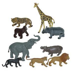 BOTE ANIMALES SELVA (9 U.)