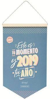 CALENDARIO DE PARED CLASICO 2019 ESTE ES TU MOMENTO Y 2019 TU AÑO