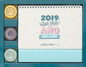 CALENDARIO SCRAPBOOKING 2019 QUE GRAN AÑO VA A SER