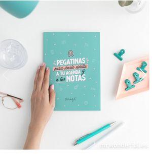 LIBRETA DE PEGATINAS PARA DARLE VIDILLA A TU AGENDA Y A TUS NOTAS
