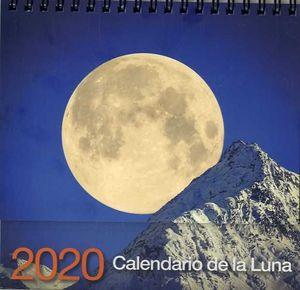 CALENDARIO SOBREMESA 2020 DE LA LUNA