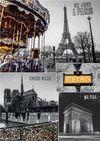 PUZZLE 1000 PIEZAS COLLAGE CIUDADES PARIS