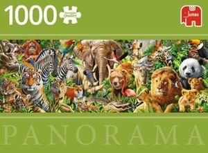 PUZZLE 1000 PIEZAS AFRICAN WILDLIFE PANORAMICO
