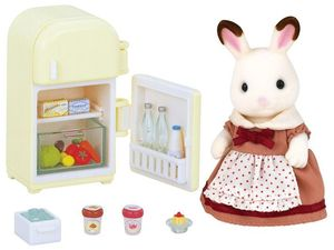 SET MAMA CONEJA CHOCOLATE CON NEVERA