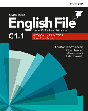 ENGLISH FILE 4TH EDITION C1.1. STUDENT'S BOOK AND WORKBOOK WITH KEY PACK
