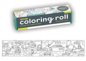 MINI COLORING ROLL POR AIRE, TIERRA Y MAR