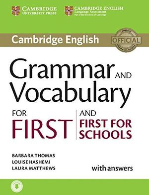GRAMMAR AND PRACTICE FOR FIRST SCHOOLS BOOK +KEY+CD