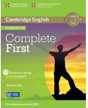 COMPLETE FIRST CERTIFICATE (ST+KEY+CD) 2ªED