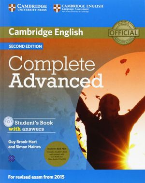 COMPLETE ADVANCED STUDENT'S BOOK PACK (STUDENT'S BOOK WITH ANSWERS WITH CD-ROM A