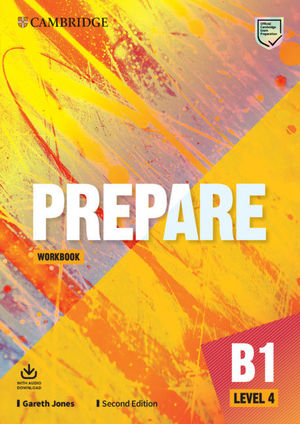 PREPARE SECOND EDITION. WORKBOOK WITH AUDIO DOWNLOAD. LEVEL 4
