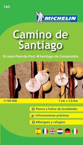 MAPA ZOOM CAMINO DE SANTIAGO