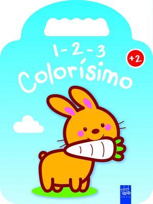 1-2-3 COLORISIMO - CONEJO