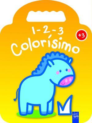 1-2-3 COLORISIMO +3 - PONI