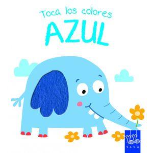TOCA LOS COLORES. AZUL
