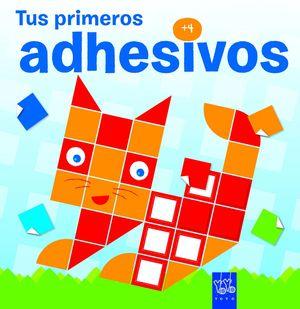 TUS PRIMEROS ADHESIVOS +4. GATO