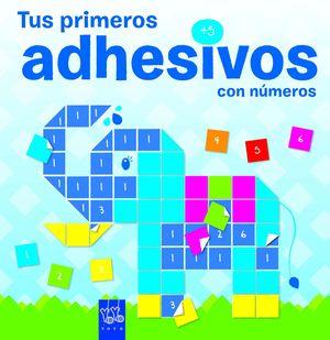 TUS PRIMEROS ADHESIVOS +5. ELEFANTE