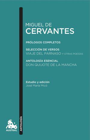 MIGUEL DE CERVANTES. ANTOLOGIA