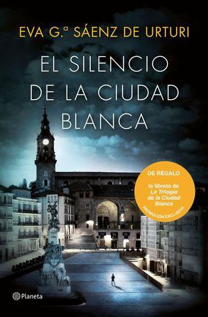 PACK EL SILENCIO DE LA CIUDAD BLANCA + LIBRETA