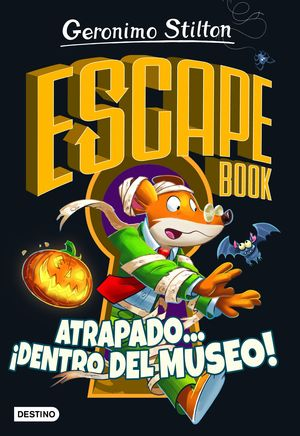 ESCAPE BOOK. ATRAPADO... ¡DENTRO DEL MUSEO!