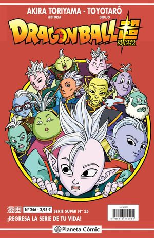 DRAGON BALL SERIE ROJA Nº 246