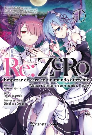 RE:ZERO CHAPTER 2 (MANGA) Nº 01