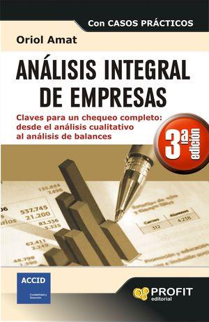 ANALISIS INTEGRAL DE EMPRESAS 3ª EDICIÓN