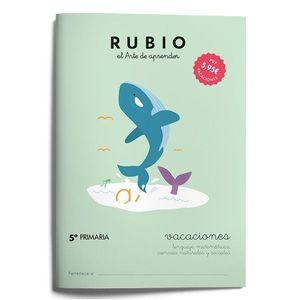 RUBIO VACACIONES  -5º PRIMARIA