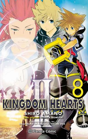 KINGDOM HEARTS II Nº08
