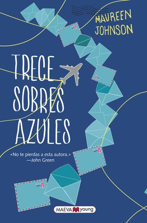 TRECE SOBRES AZULES