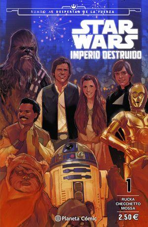STAR WARS IMPERIO DESTRUIDO (SHATTERED EMPIRE) Nº 01/04