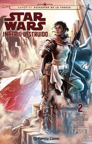 STAR WARS IMPERIO DESTRUIDO (SHATTERED EMPIRE) Nº 02/04