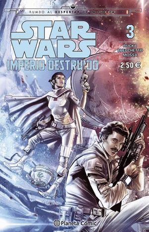 STAR WARS IMPERIO DESTRUIDO (SHATTERED EMPIRE) N �/04