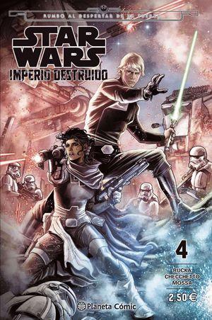 STAR WARS IMPERIO DESTRUIDO (SHATTERED EMPIRE) Nº 04/04