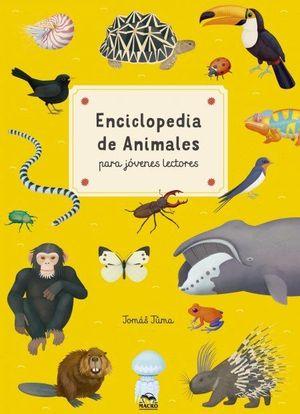 ENCICLOPEDIA DE ANIMALES PARA JÓVENES LECTORES