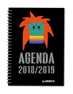 AGENDA ESCOLAR AURON PLAY 2018/2019