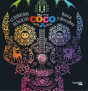 COCO DISNEY. 12 DIBUJOS MÁGICOS: RASCA Y DESCUBRE
