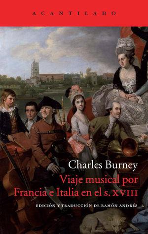 VIAJE MUSICAL POR FRANCIA E ITALIA EN EL SIGLO XVIII
