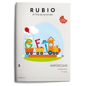 MAYÚSCULAS RUBIO 3