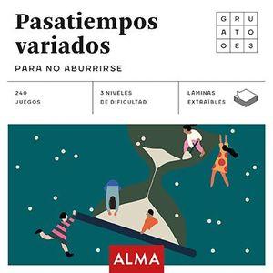PASATIEMPOS VARIADOS PARA NO ABURRIRSE (CUADRADOS DE DIVERSIÓN)